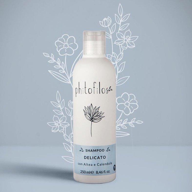 Shampoo Delicato Pre-tinta con Altea e Calendula Bio Vegan
