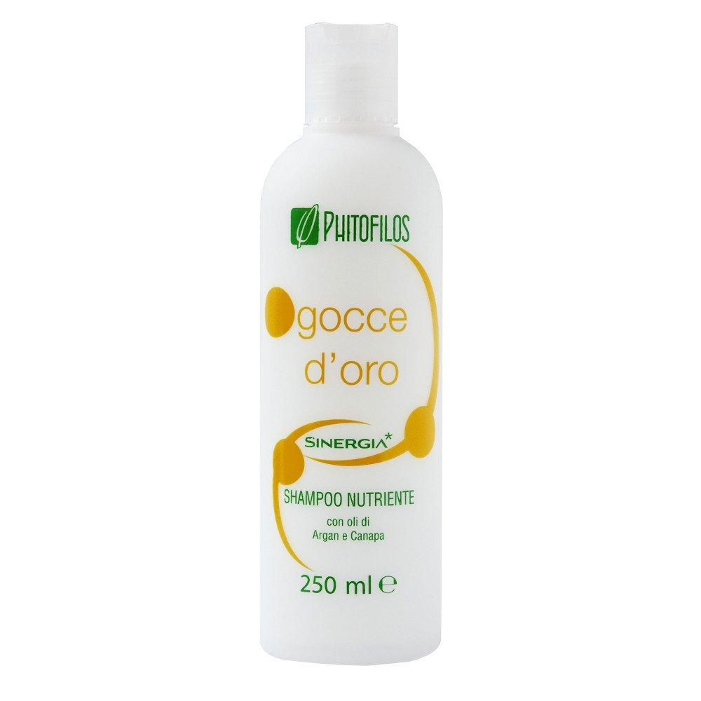 Shampoo Nutriente post tinta Gocce d'Oro Phitofilos Bio Vegan