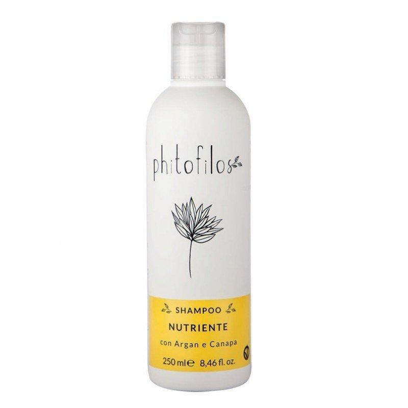 Shampoo Nutriente per capelli trattati e secchi Bio Vegan