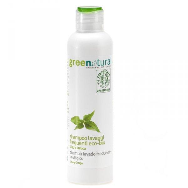 Shampoo eco-bio lavaggi frequenti Lino e Ortica - 250ml