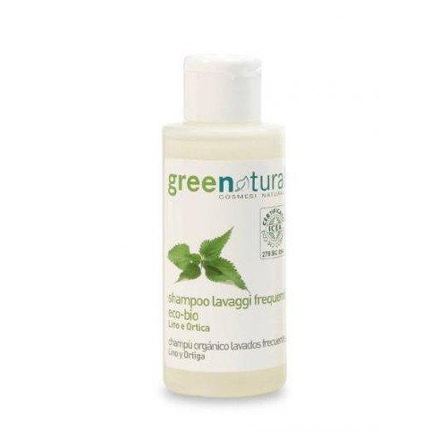 Shampoo eco-bio lavaggi frequenti Lino e Ortica - 100ml