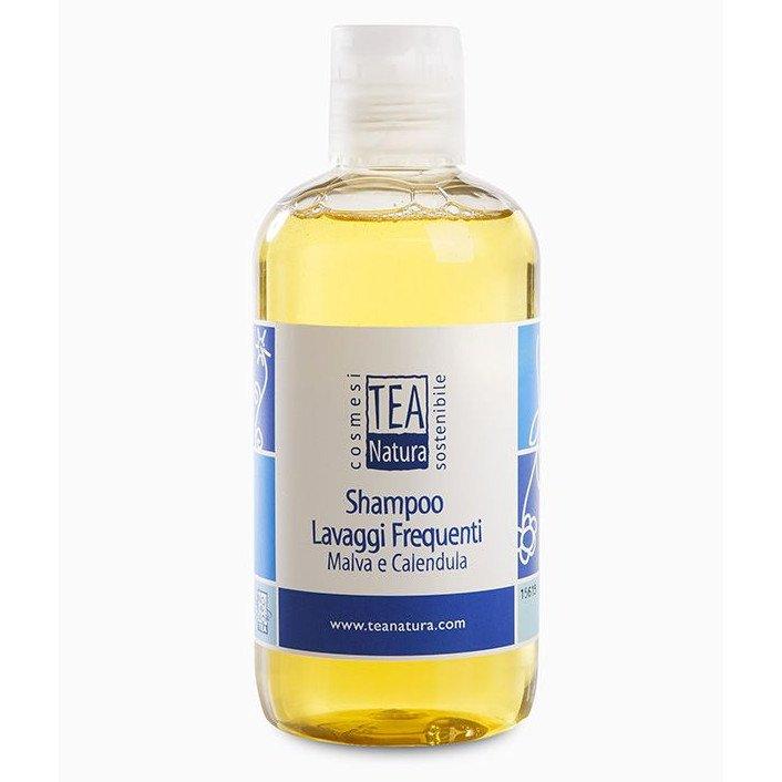 Shampoo lavaggi frequenti Malva e Calendula Tea Natura