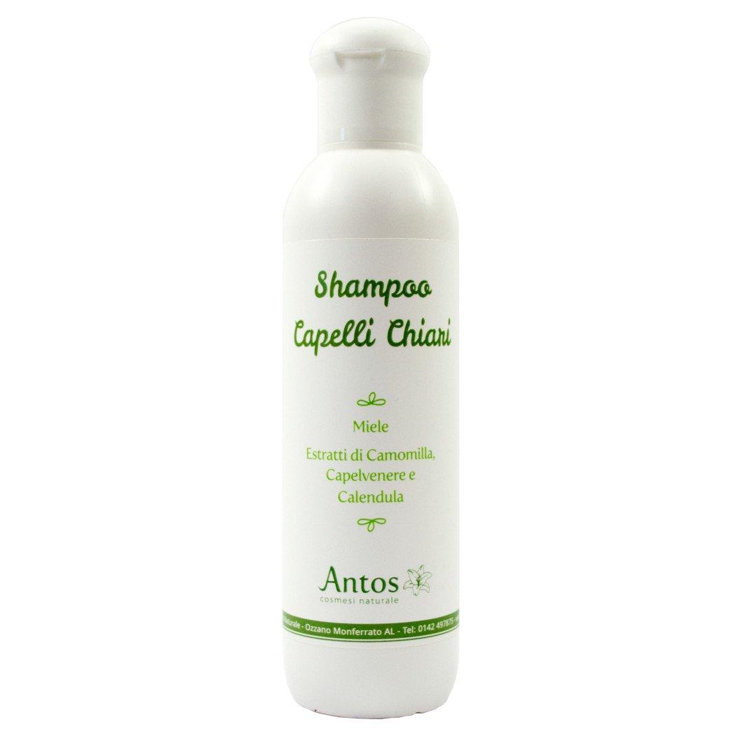Shampoo capelli chiari con Camomilla, Capelvenere e Calendula