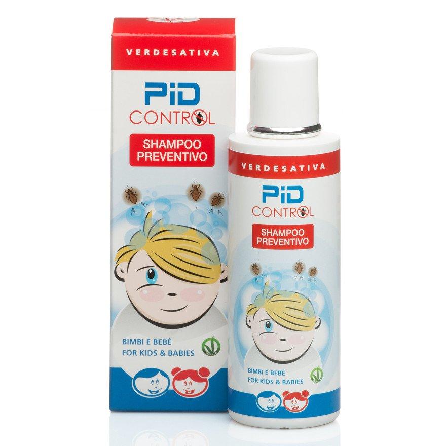 Shampoo Pid Control preventivo pidocchi alla canapa