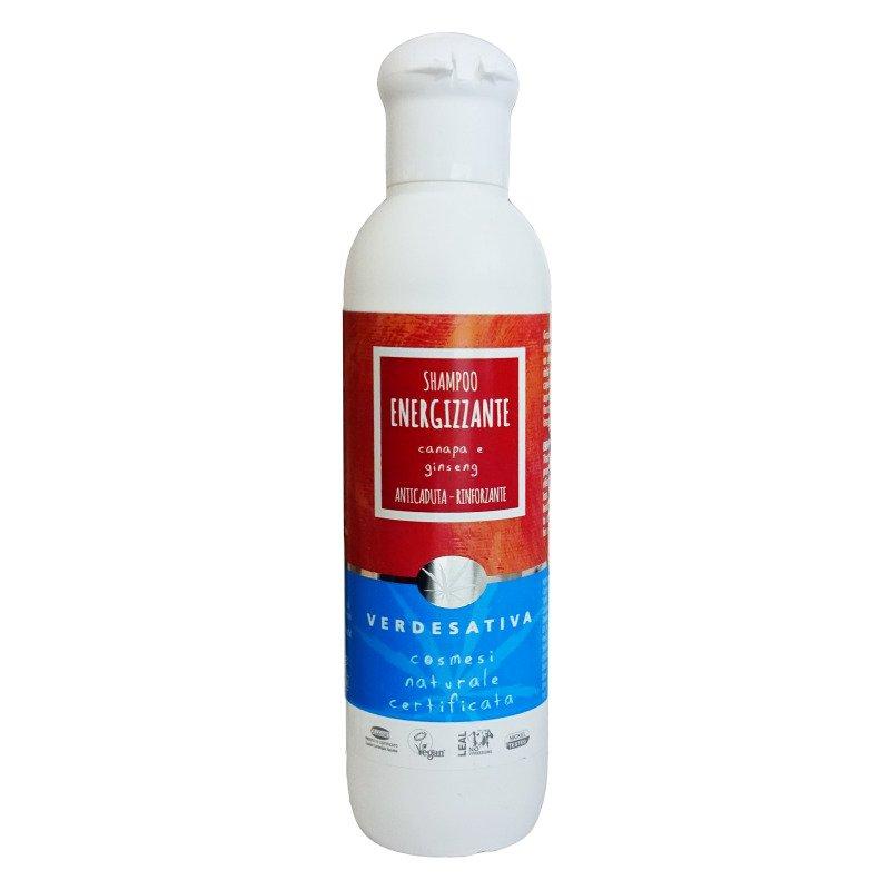 Shampoo energizzante anticaduta alla Canapa e Ginseng