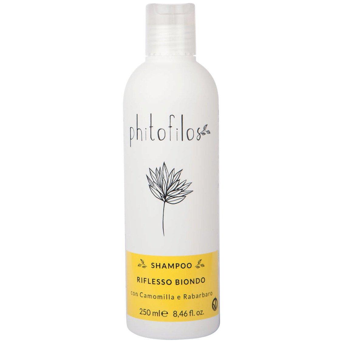 Shampoo Riflesso Biondo con Camomilla e Rabarbaro BioVegan