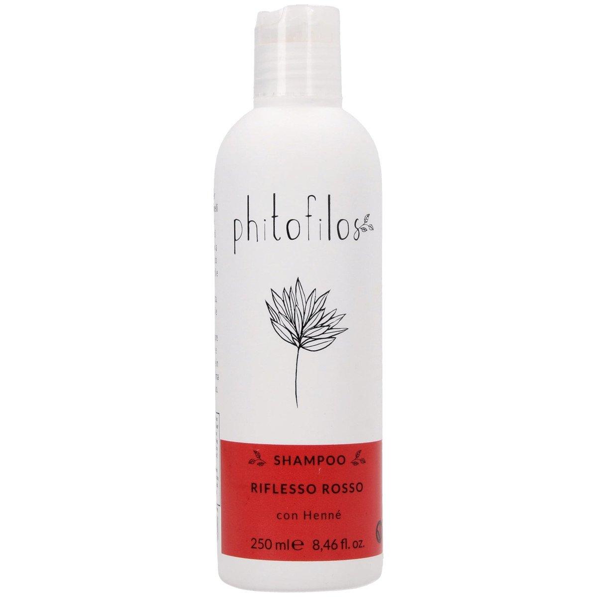 Shampoo Riflesso Rosso con Hennè Bio Vegan