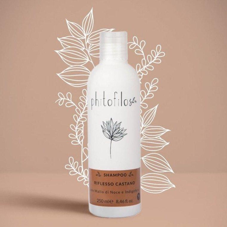 Shampoo Riflessante Mallo e Indigofera Phitofilos Vegetall