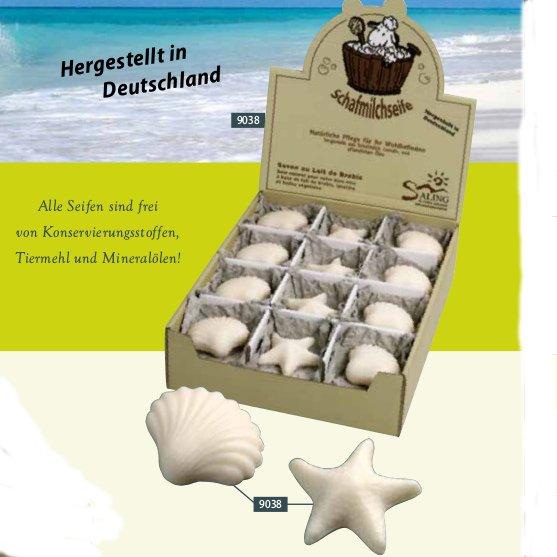 Sheep milk soap Shell/Starfish