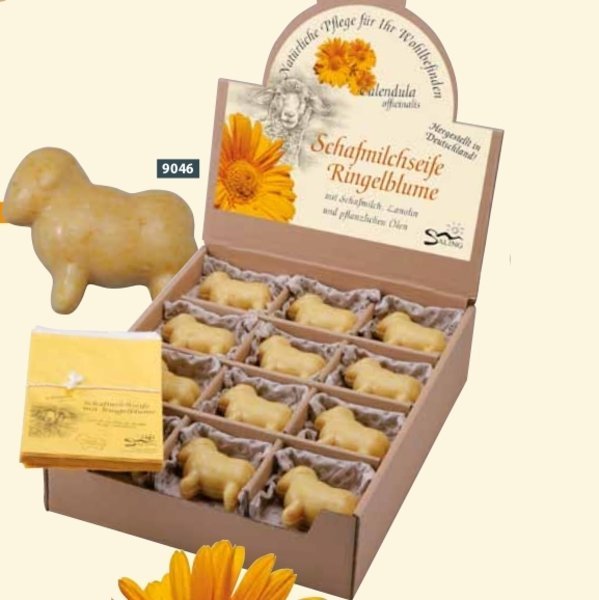 "Sheep milk soap ""sheep"" with calendula extract"