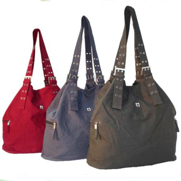 Shopper bag in hemp