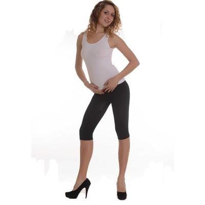 Short legging in bamboo and castor fiber