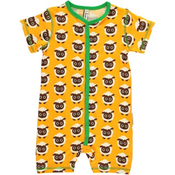 Rompersuit Sheep in organic cotton