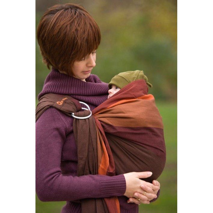 Bb sling with ring in cotton