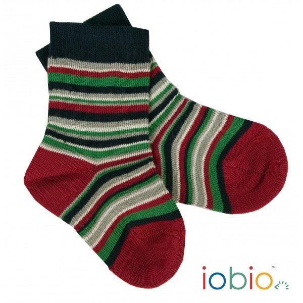 Short socks in organic cotton