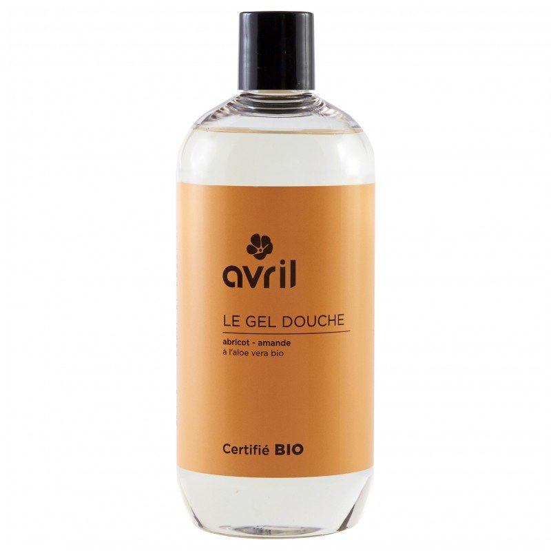 Shower gel apricot and almond organic  Avril