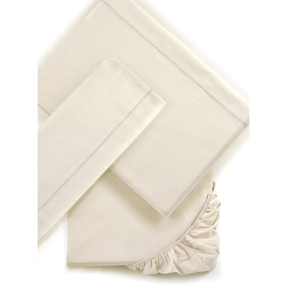 Single bed sheets Mymami in Organic Raw Natural cotton