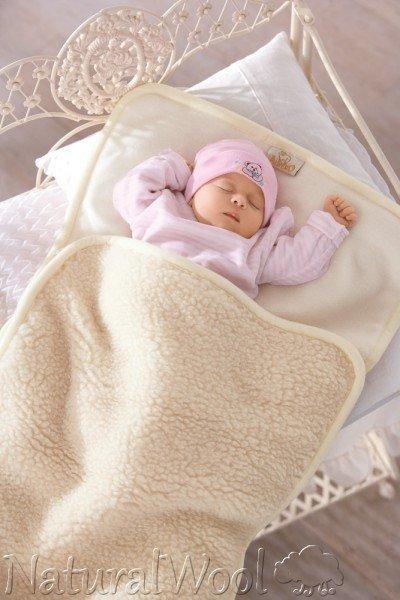 Sleeping bag in merinos wool