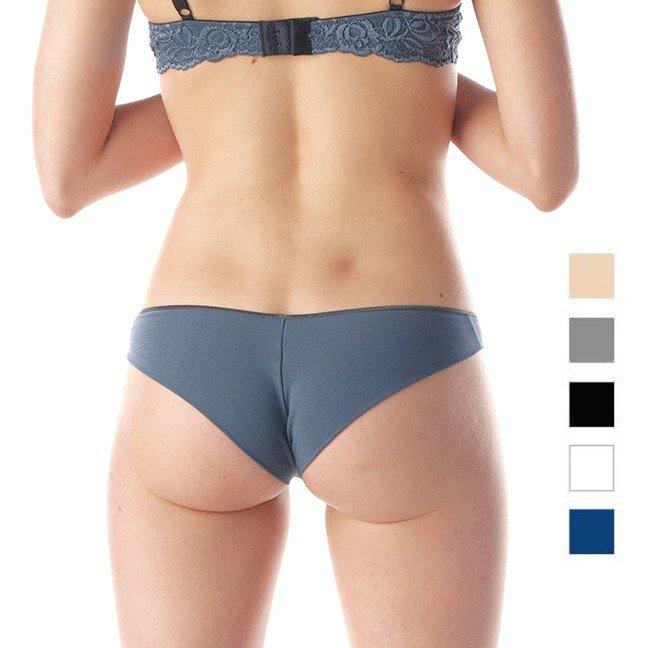 Slip Invisibile Brasiliana in Modal e Cotone