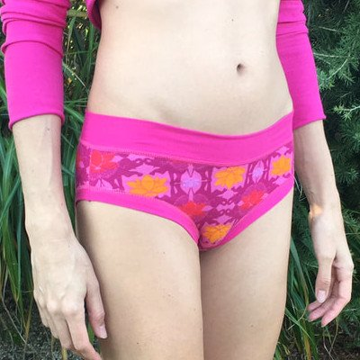 Slip senza elastici Panties Colorio Organics tg M in cotone biologico