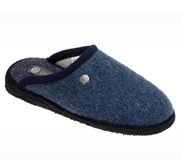 Slipper in felted wool