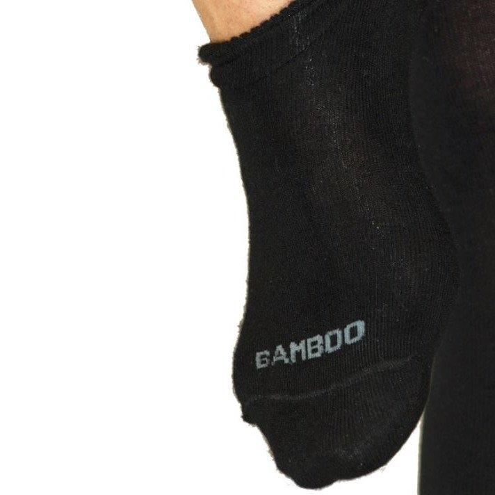Sneaker Sock in Bamboo Black