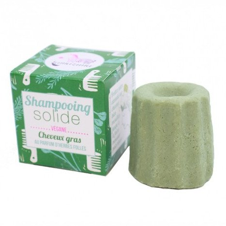 Solid shampoo for oily hair with Herbs