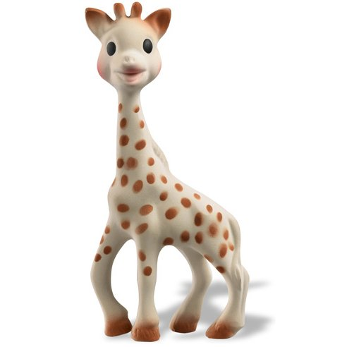 Sophie the Giraffe, natural rubber toy