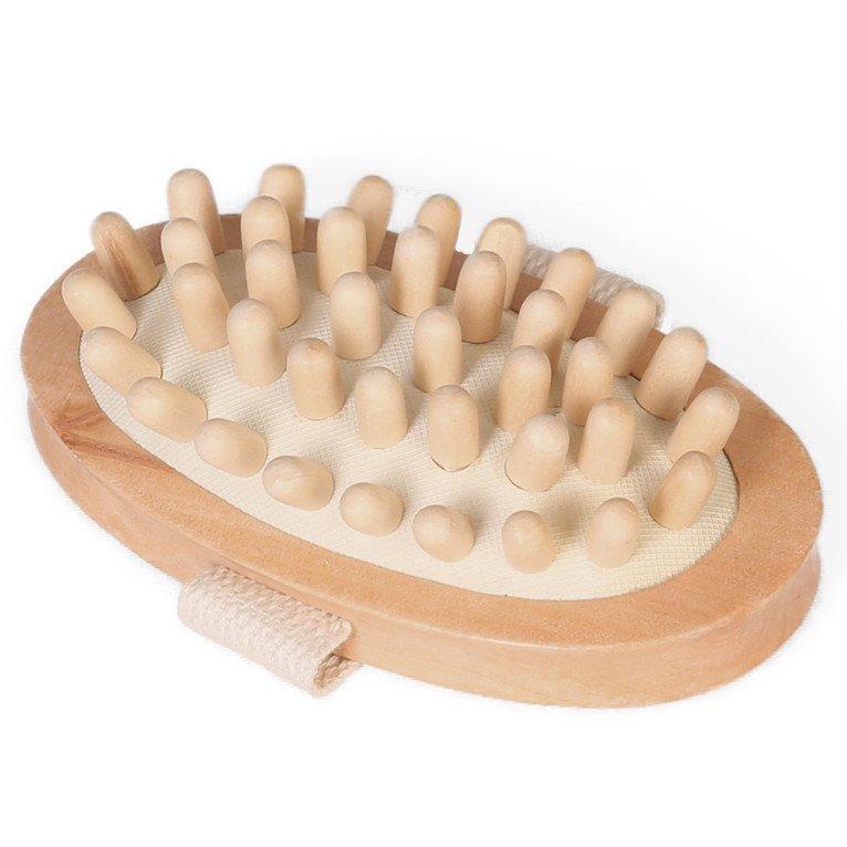 Spazzola anticellulite in legno Eco Bath