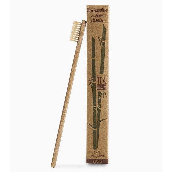 Spazzolino da denti in bambù per bambini