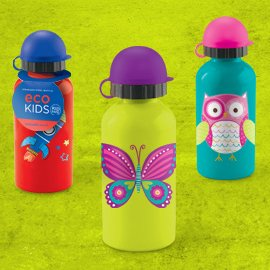 Stainless steel kids bottle