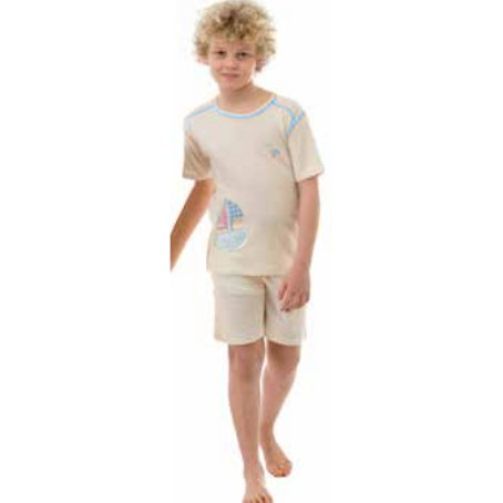 Summer boy pyjamas in organic cotton