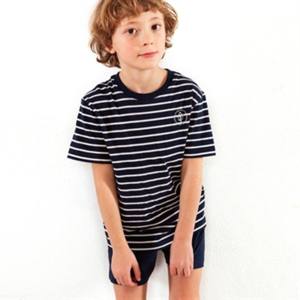 Summer boy pyjamas in organic cotton