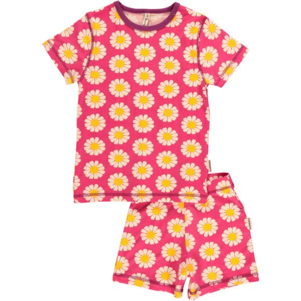 Summer girl pyjama Daisy in organic cotton