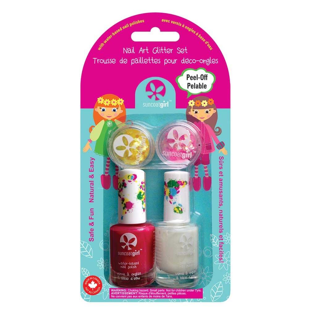 Suncoat Nail Art Glitter Kit For Children Cheer Leader Suncoat