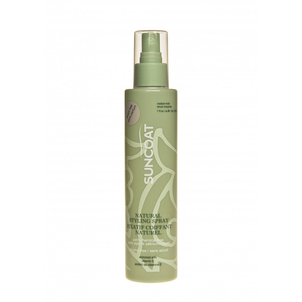 Styling spray natural per capelli senza profumo Suncoat