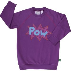 Sweatshirt Purple in organic cotton