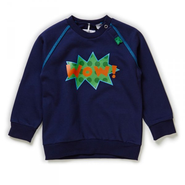 Sweatshirt Navy in organic cotton