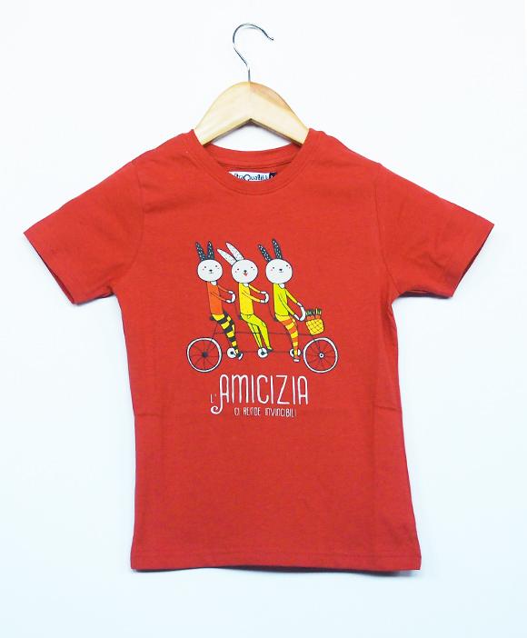 T-shirt Invincibili in cotone biologico equo