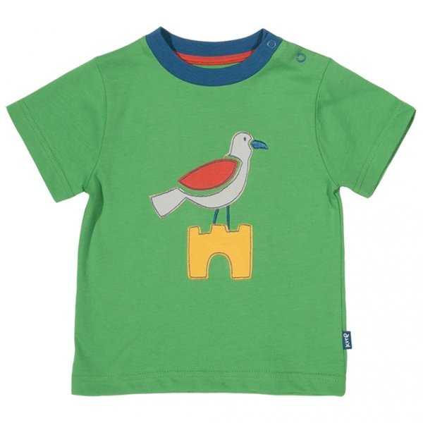 T-shirt baby boy Seagull in organic cotton