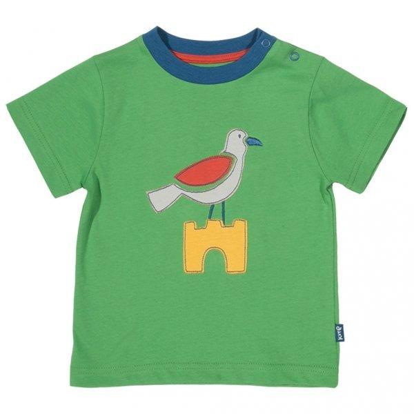 T-shirt baby boy Seagull in organic cotton