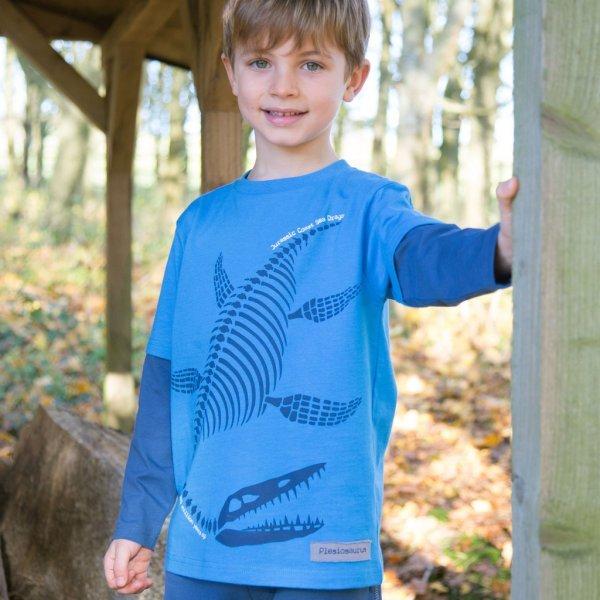 Plesiosaurus t-shirt in organic cotton