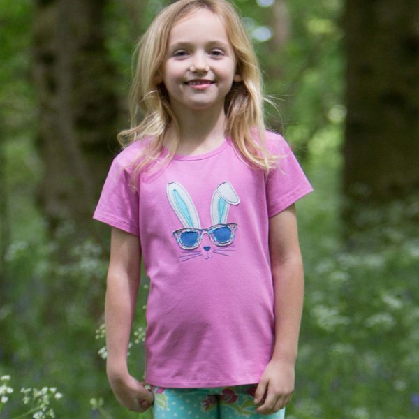T-shirt Bunny in organic cotton