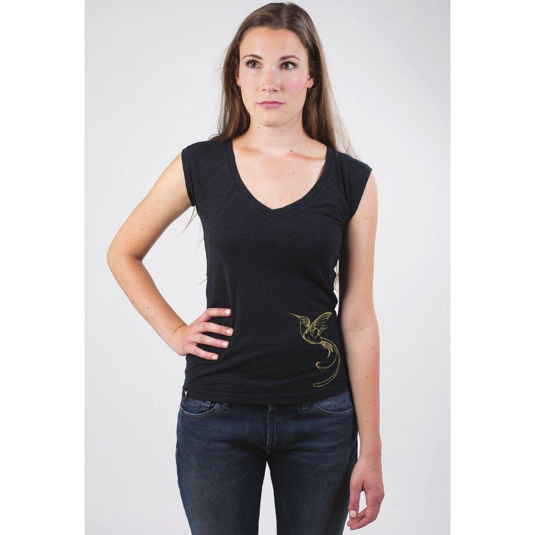 T-shirt Perù Bird in canapa e cotone biologico