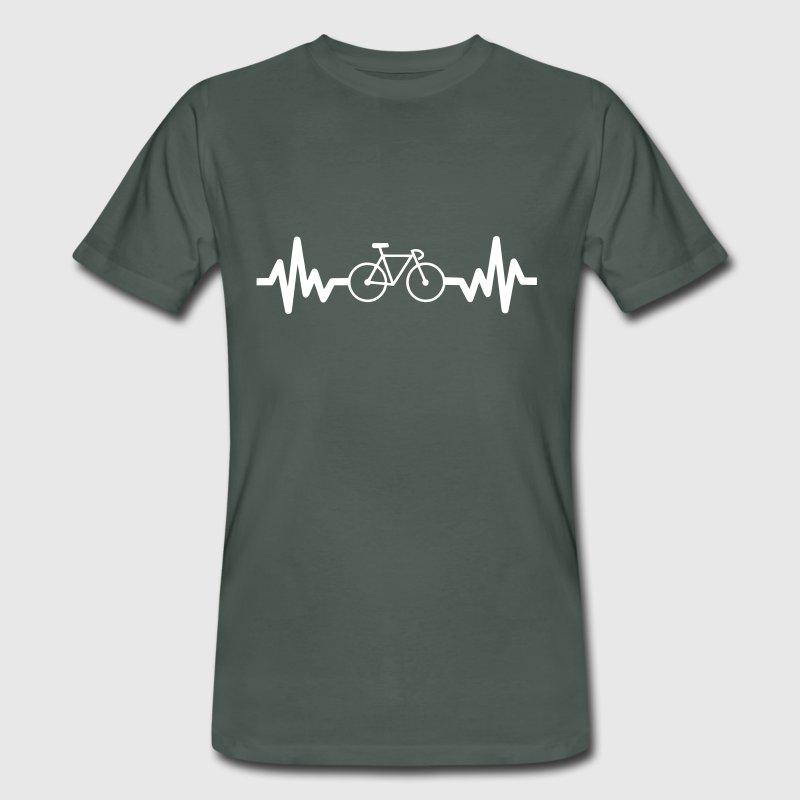 T-shirt uomo in cotone biologico Bicicletta