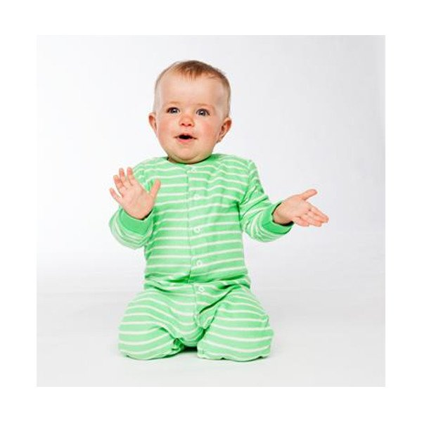Terry night suit in organic cotton