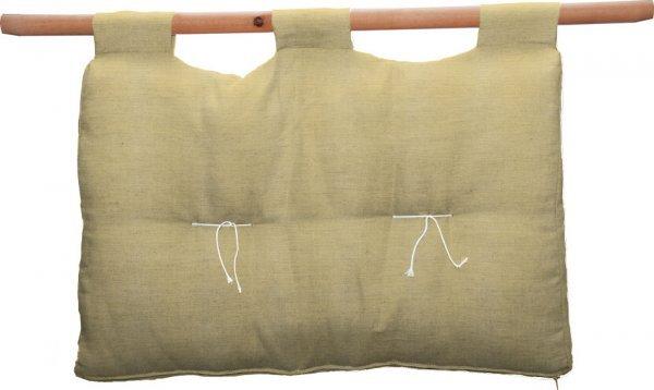 Testata letto singolo cotone - Nature Company