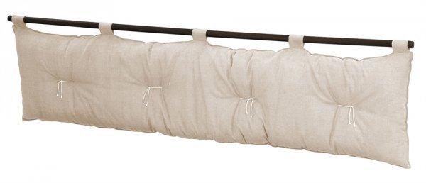 T yogi - Testata letto Yogi in cotone (senza federa di rivestimento)