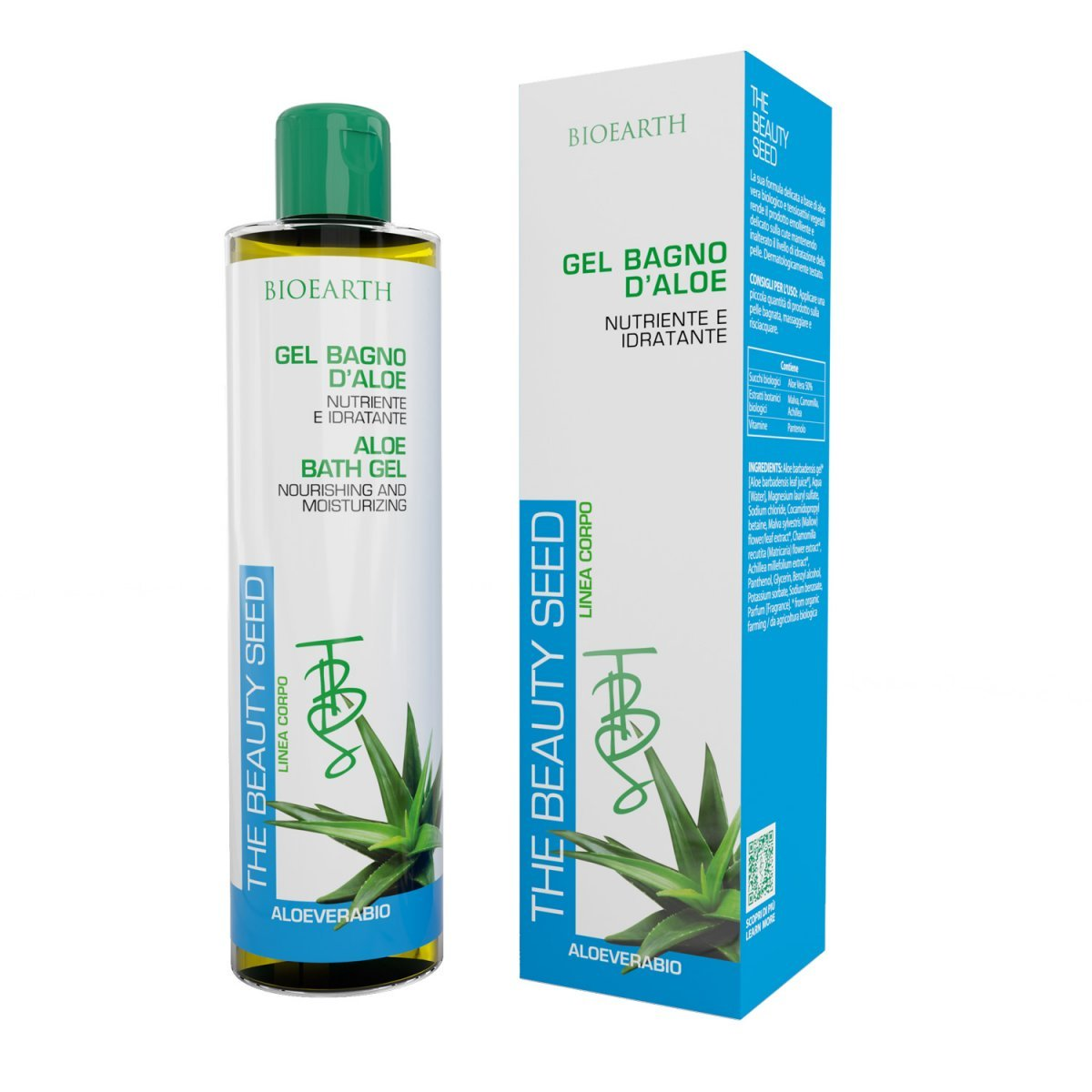 The Beauty Seed Aloe Bath Gel