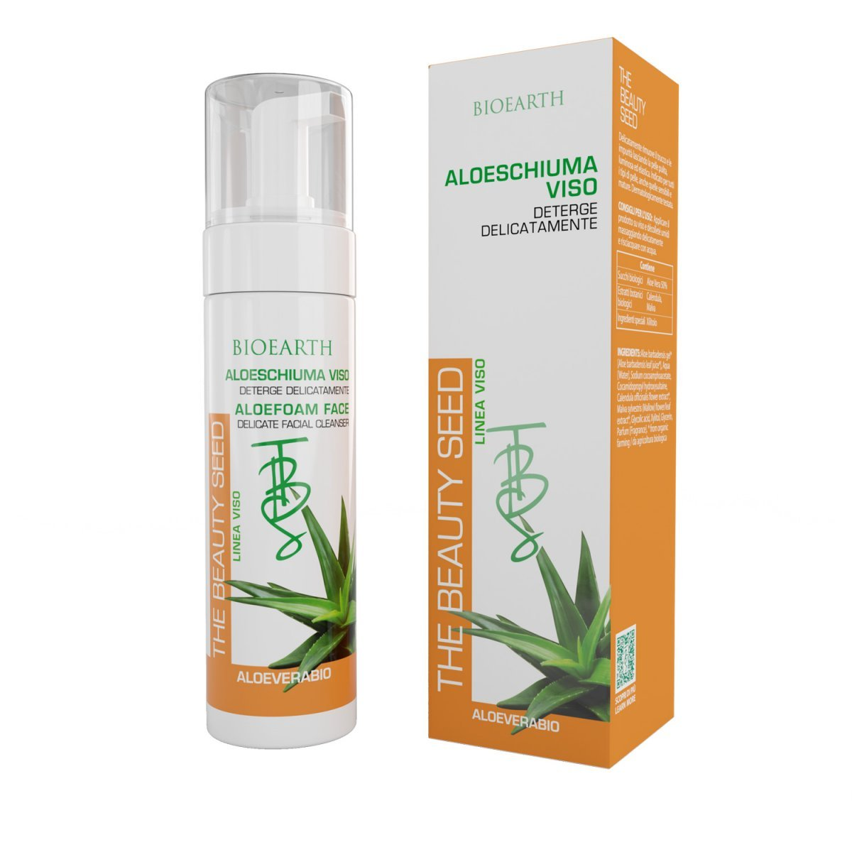 The Beauty Seed Aloeschiuma Viso all'Aloe